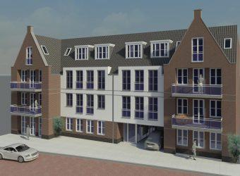 """18 Appartementen project """" Den Arend"""" Budel"""