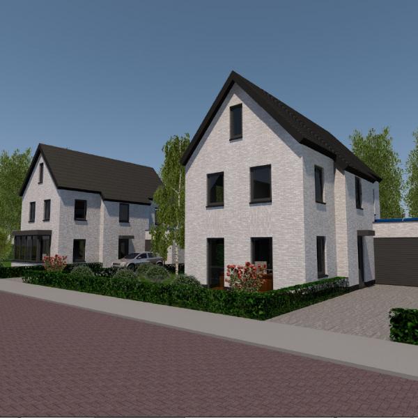 Vergunning 6 woningen Hanendijk Budel afgegeven