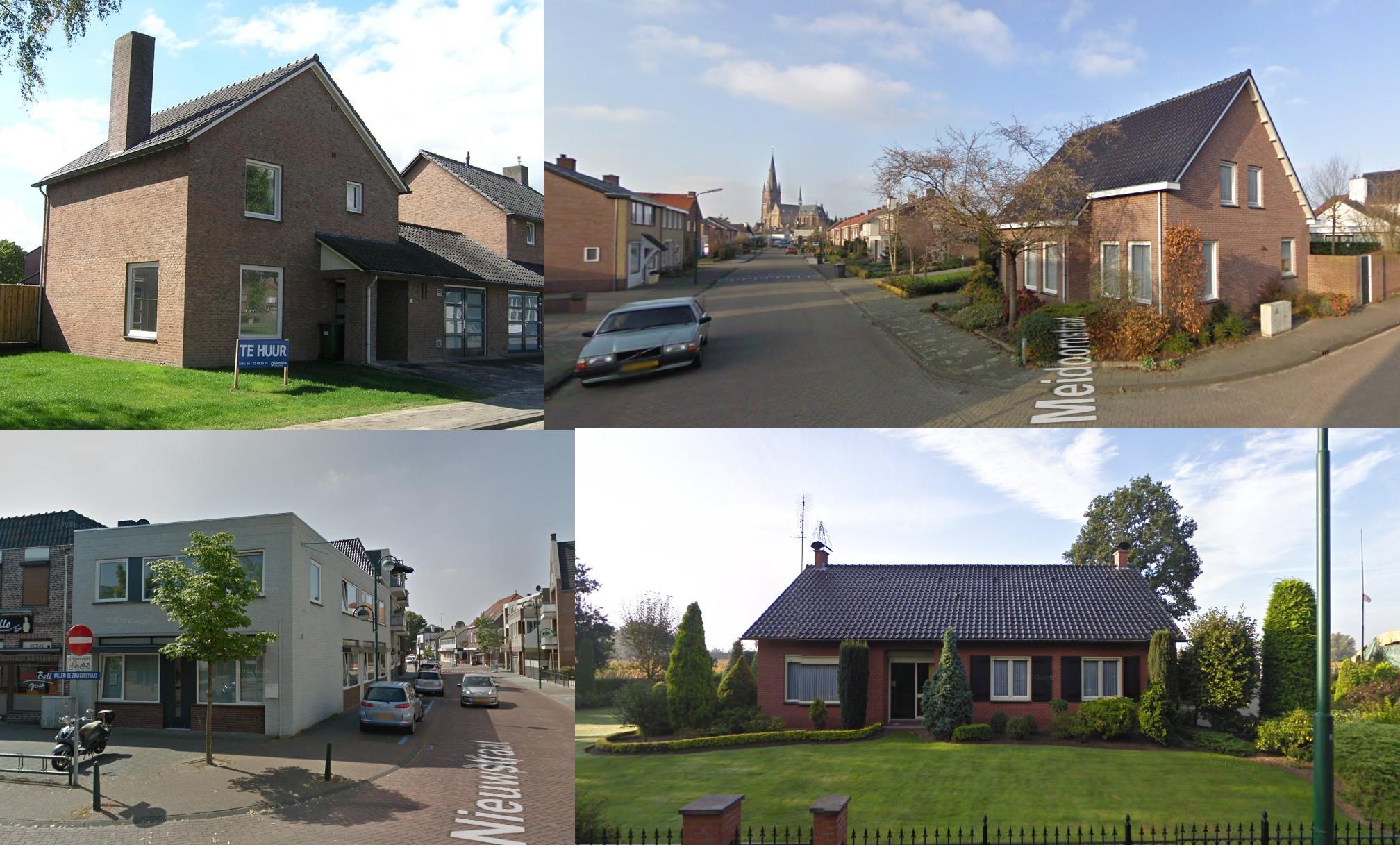 Greep uit diverse woningen Budel, Gastel en Maarheeze