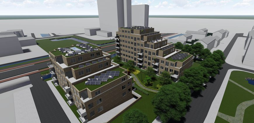 """Project """" De groene verbinding"""" te Rijswijk"""